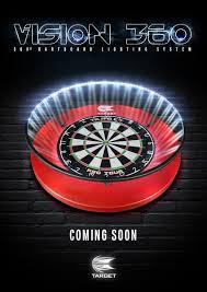 vision 360 dartboard light
