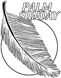 Small Picture Palm Sunday Coloring Page crayolacom