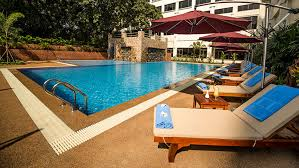 out hotel swimming pool