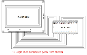 gammon forum electronics microprocessors connecting a wiring diagrams on the arduino mega sda is digital pin 20 and scl is digital pin 21 they are marked sda and scl on the board itself