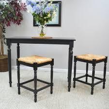 Narrow bar table Outdoor Emilia Piece Counter Height Pub Table Sets Wayfair Long Narrow Bar Table Wayfair