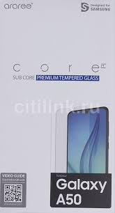 Купить <b>Защитное стекло</b> для экрана <b>SAMSUNG araree</b> by KDLAB ...