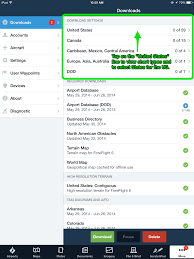 Managing Your Downloads And Pack Foreflight