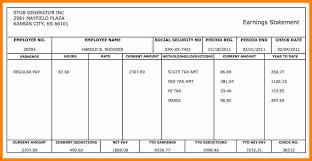 Online Pay Stub Generator Paycheck Maker Free Under Fontanacountryinn Com