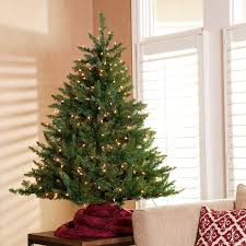 Classic Tabletop Pre-lit Christmas Tree -4.5 ft. | Hayneedle
