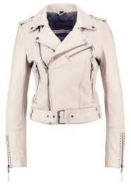 oakwood leather jacket light beige women clothing jackets oakwood coat conditioner on