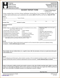 Daycare Accident Incident Report Form Eymir Mouldings Co