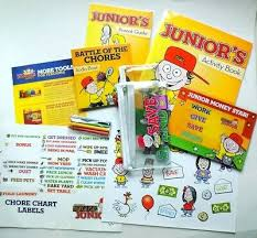 Financial Peace Junior Chore Chart Financial Peace Junior Teaching Kids 3 12 How To Win With Money Extra Parts Ebay