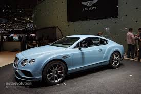 World Debut for 2015 Bentley Continental GT at the Geneva Motor ...