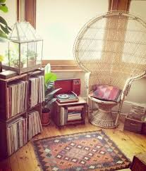 bedroom bohemian chic vintage