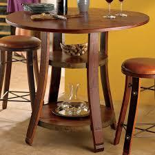 Vintage Oak Dining Table Vintage Oak Bistro Table Wine Enthusiast