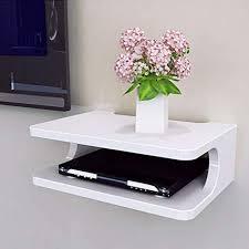 floating shelf for tv components 5