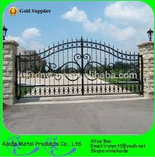 Decorative Metal Gates Design Best Elegant Wrought Iron Driveway Gate Design Decorative House Villa