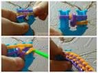 Двойная рогатка для плетения из резинок