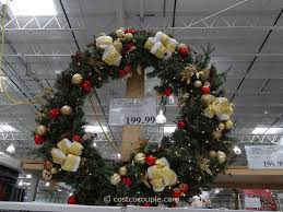 home interior perfect large outdoor lighted wreath holiday living 48 in pre lit indoor