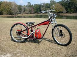 chopper bicycle with motor bike frame motorized bikes trikes occ