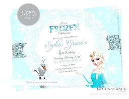 elsa birthday invitations frozen elsa party invitations birthday invitations frozen invitation