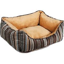Petmate Fashion Rectangular Plush Lounger Dog Bed Walmart