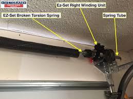 ez garage doorsWhat is the EZSet spring system