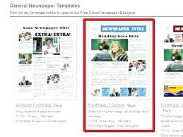 Free Html Newspaper Template Newspaper Html Template Magazine Website Free