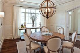 view in gallery contemporary dining room with a round table and elegant chairs view