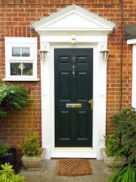black posite six door gold furniture with upvc cat window