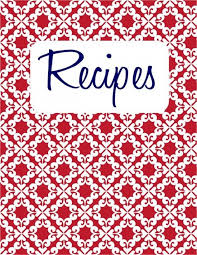 recipe cover page template 26 recipe binder free printable instead of writing out a recipe