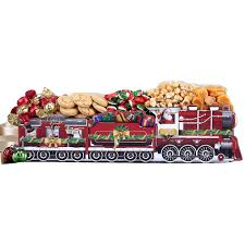 wine country gift baskets express holiday favorite sweets train gift basket 902 the