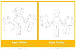With this printable paper doll set, you can design the character and clothing however you'd like. Free Printable Paper Dolls For Kids To Color And Personalize Boy Girl