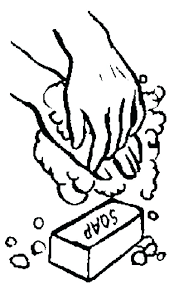 handwashing coloring page s s cdc hand washing coloring pages