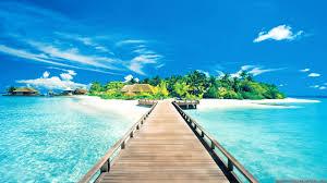 Island wallpaper, Beach wallpaper