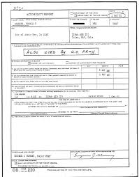 Dd Form DD Form 24 Active Duty Report 15