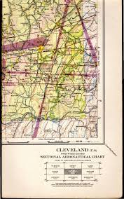 Sectional Aeronautical Chart Map Cleveland Ohio U 8 Sectional
