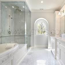 image of carrara marble bathroom floor small bathrooms in carrara marble tiles