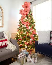 Paper Flower Christmas Tree Best Christmas Home Tours Christmas Trees Pinterest Christmas