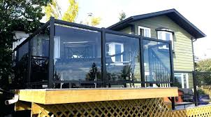 exotic glass deck railing tempered panels fence stainless steel systems cost