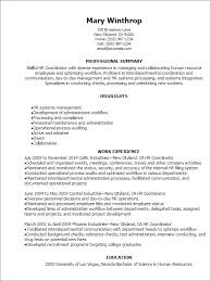 Hr Resume Templates Classy Hr Professional Resume Summary Yelommyphonecompanyco