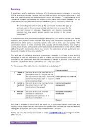 guide to construction procurement strategies 5 page 5 acirccopy 500 words