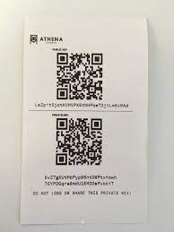 To date hardware bitcoin wallets or cold storage wallets are trustworthy options for storing btc private keys. How To Use A Paper Wallet Athena Bitcoin