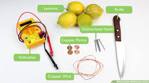 Lemon Powered Light How To Create A Battery From A Lemon 14 Steps With Pictures