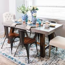dining table 72 inch round dining table fresh hickory and tweed cooper rectangular concrete dining table