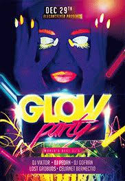 glow flyer glow party flyer psd template by elegantflyer