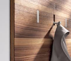 Coat Rack With Storage Space Inspiration HighLow SpaceSaving Retractable Wall Hooks The Organized Home