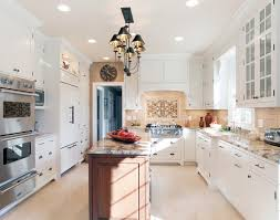Plain White Kitchen Cabinets Cottage Kitchen Cabinetry Dressed In White Plain Fancy Cabinetry