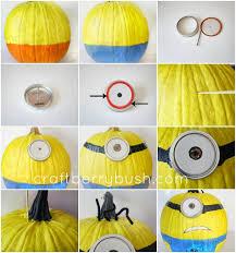 Small Pumpkin Painting Minion Pumpkin Tutorial