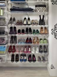 shoe organization creative closet ideas