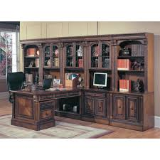 office wall unit. Parker House Huntington Peninsula Desk Wall Office Unit (12pc)