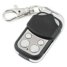 universal cloning remote control key fob for car garage door gate 433 92mhz about 100 meters