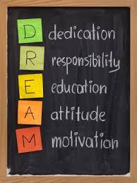 Quotes For Motivation Stunning DDedication RResponsibilityEEducationAAttitudeMMotivation