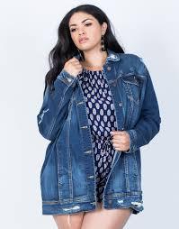 plus size parka plus size the staple denim jacket plus size outerwear plus size